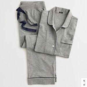 JCREW Dreamy short-sleeve cropped pajama set NWT